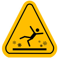 Media Slip and Fall Lawyers weigh in on ice slip and falls.